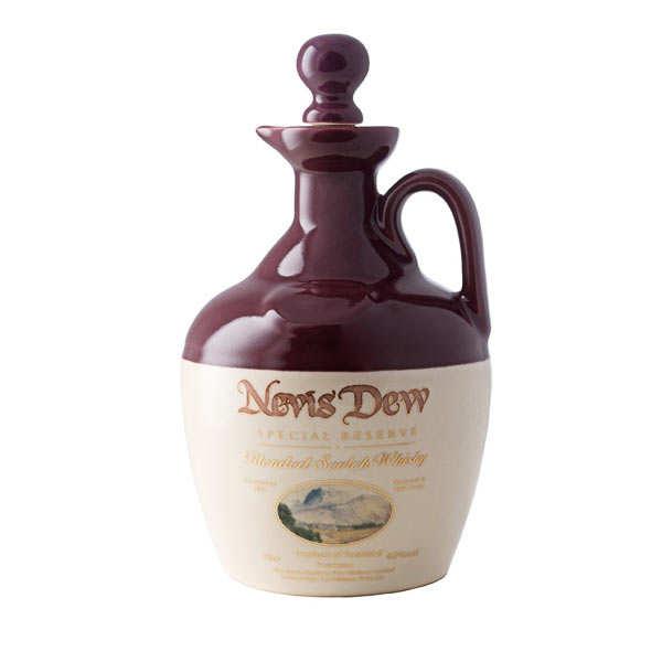 Dew whiskey Nevis Special Reserve Cruchon - 40%
