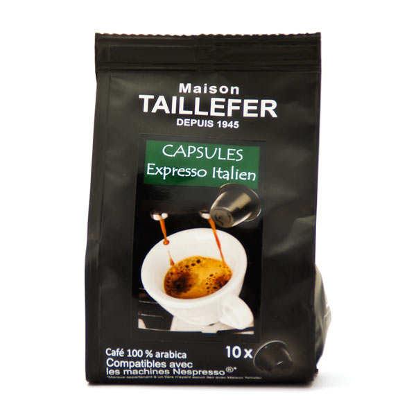 Café expresso italien capsules compatibles Nespresso®