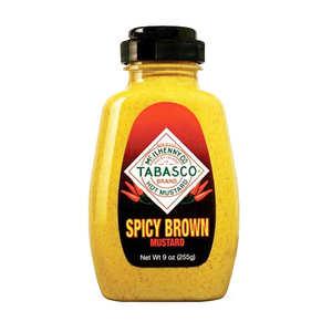 Mc Ilhenny - Tabasco brand - Moutarde tabasco spicy brown