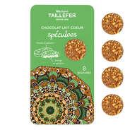 Maison Taillefer - Bouchée de chocolat au lait fourrée au spéculoos