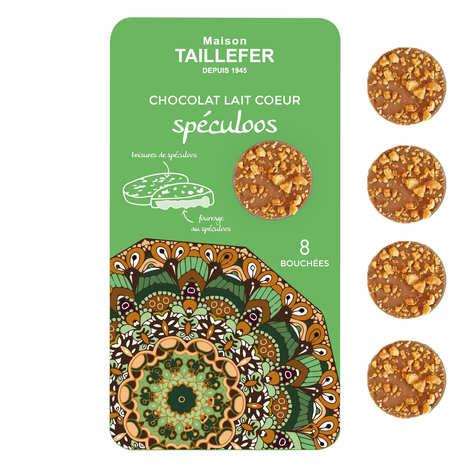 Maison Taillefer - Bouchées de chocolat au lait fourrée au spéculoos