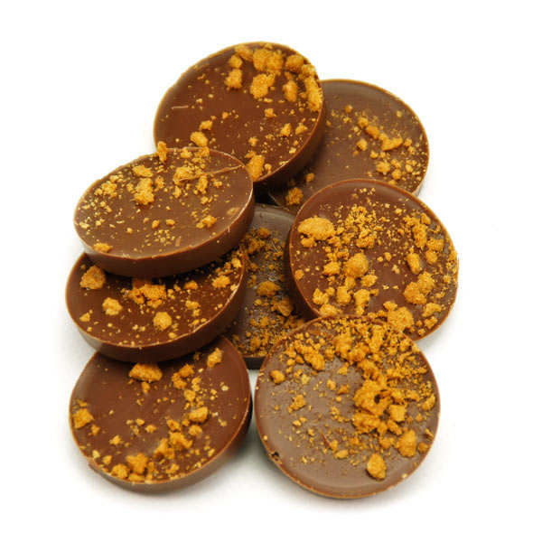 Milk Chocolate Stuffed with Speculoos