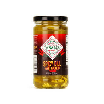 Mc Ilhenny - Tabasco brand - Tabasco pickles and garlic