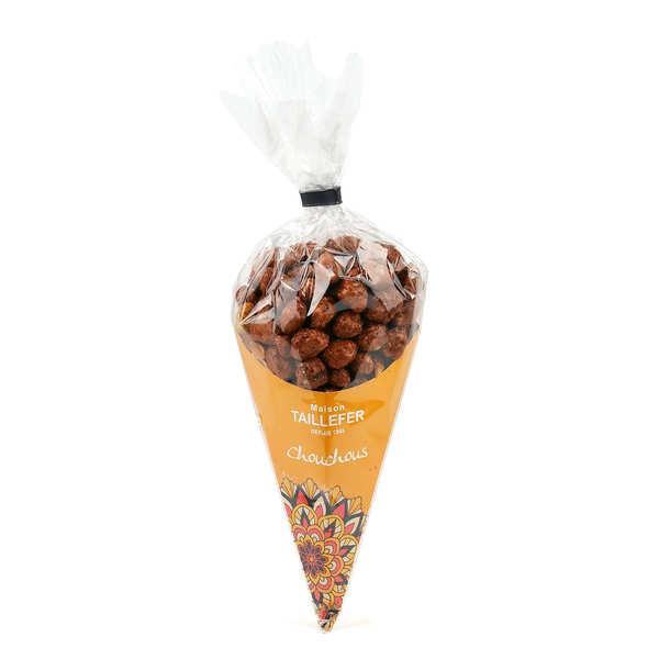 Cornet de chouchous (cacahuètes caramélisées)