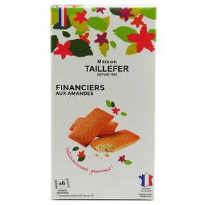 Maison Taillefer - Almonds Financier Biscuit