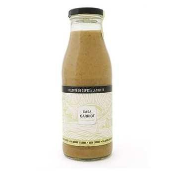Casa Carriot - Cream of Porcini Mushrooms with Truffle
