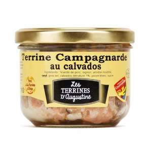 La Chaiseronne - Terrine campagnarde au Calvados