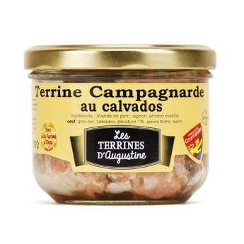 La Chaiseronne - Rustic Terrine with Calvados