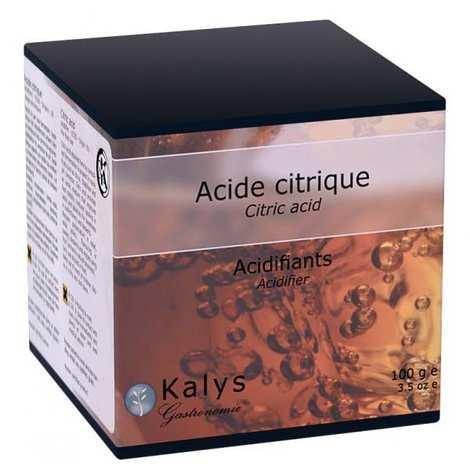 Kalys Gastronomie - Acide citrique