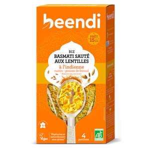 Beendhi - Riz bio aux lentilles façon Kitchari