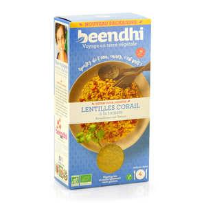 Beendhi - Curry de lentilles bio à la tomate façon Dal Jodhpur