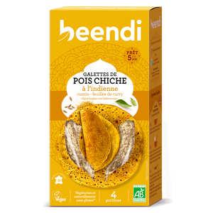 Beendhi - Galettes de pois chiche bio façon Karnataka