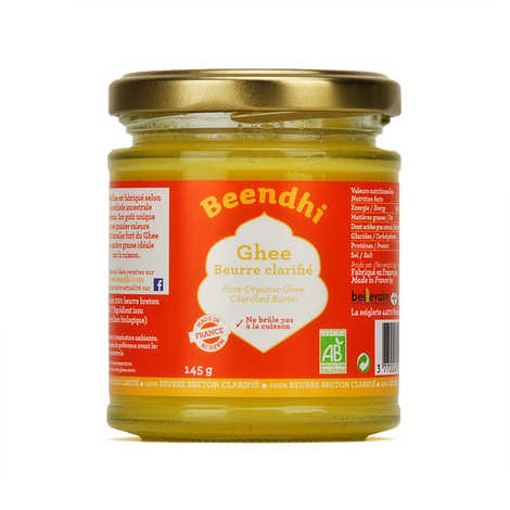 Beendhi - Organic Ghee - Clarified Butter from India