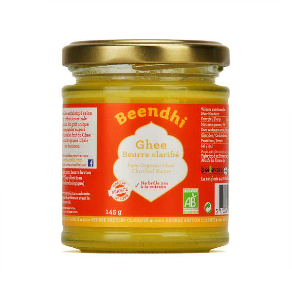Organic Ghee - Clarified Butter from India