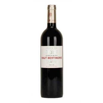 Vignoble Bertinerie - Château Haut Bertinerie - Blaye Côtes de Bordeaux rouge - 14%