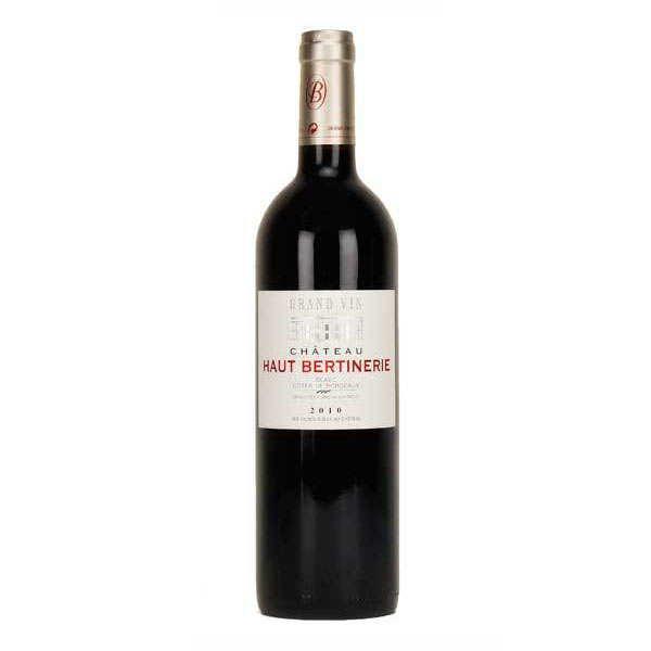 Château haut bertinerie - blaye côtes de bordeaux rouge - 14% - 2010 - bouteille 75cl