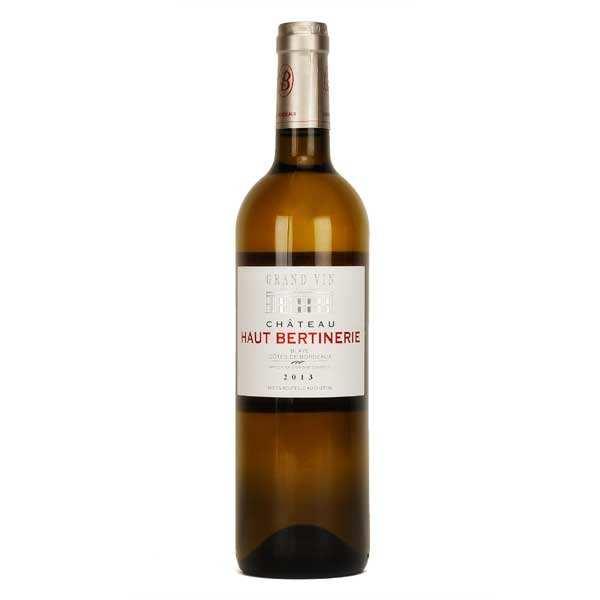 Château haut bertinerie - blaye côtes de bordeaux blanc - 13% - 2013 - bouteille 75cl