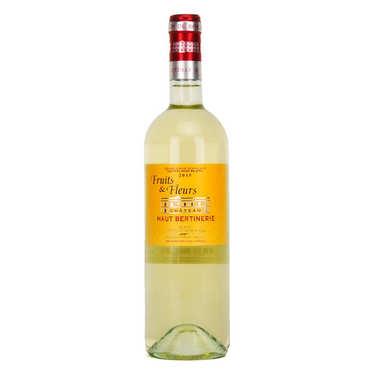 Château Haut Bertinerie Blaye Côtes de Bordeaux Fruits et Fleurs White Wine - 13.5%