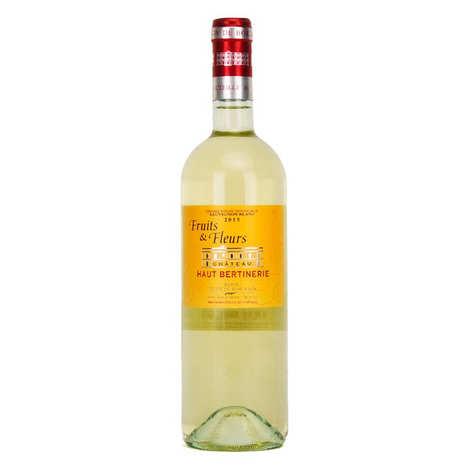Vignoble Bertinerie - Château Haut Bertinerie Blaye Côtes de Bordeaux Fruits et Fleurs blanc - 13.5%