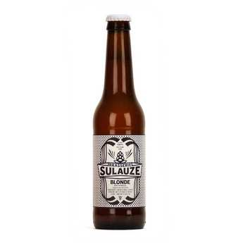 Brasserie Sulauze - Bière blonde bio brasserie Sulauze 5.5%