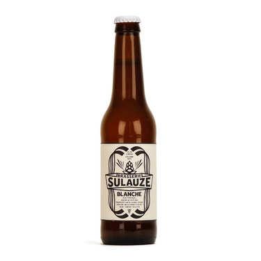 Bière blanche bio de Provence de la Brasserie Sulauze 5.5%