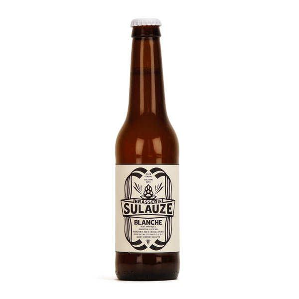 Bière blanche bio brasserie Sulauze 5.5%