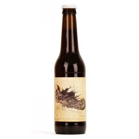 Brasserie Sulauze - Bière bio Cabosse à la fève de cacao 5%