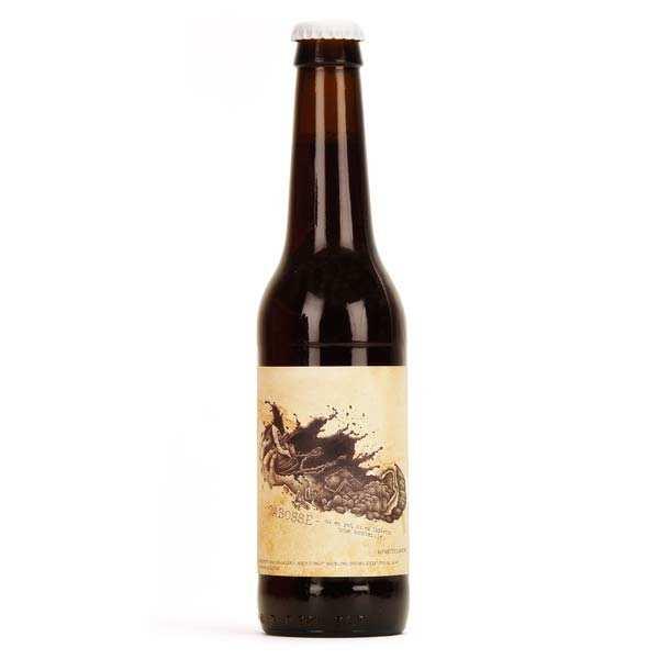 Bière bio Cabosse à la fève de cacao 5%