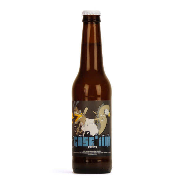 Organic Gose'illa beer from the brewery Sulauze 4.5%