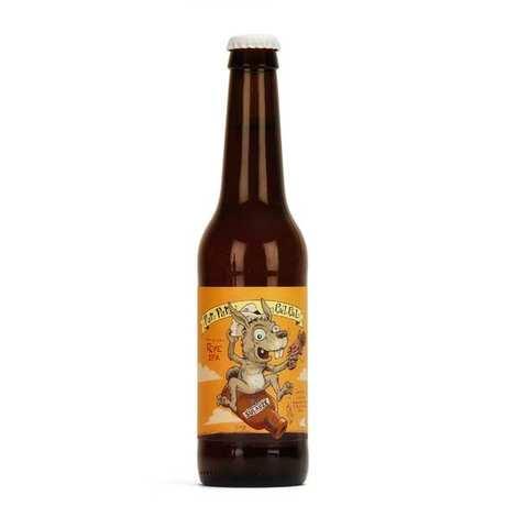 Brasserie Sulauze - Pan pan cul cul Rye IPA bière bio brasserie Sulauze 7%