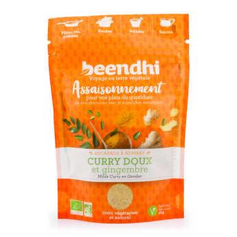 Beendhi - Assaisonnement bio 'escapade à Bombay' - Curry doux et gingembre