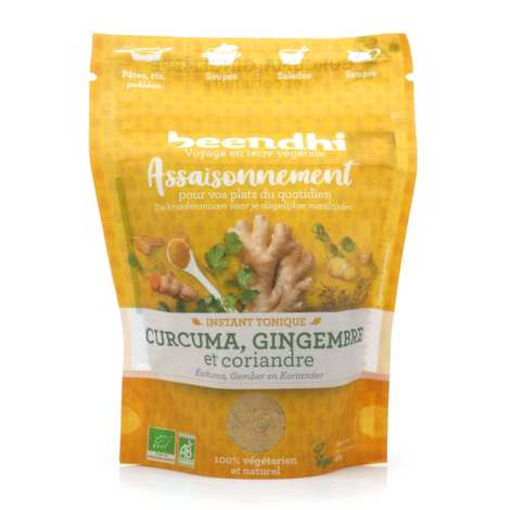 Beendhi - Organic Turmeric, Ginger and Coriander Seasoning