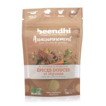 Beendhi - Bouillon l'oriental bio, légumes et épices douces