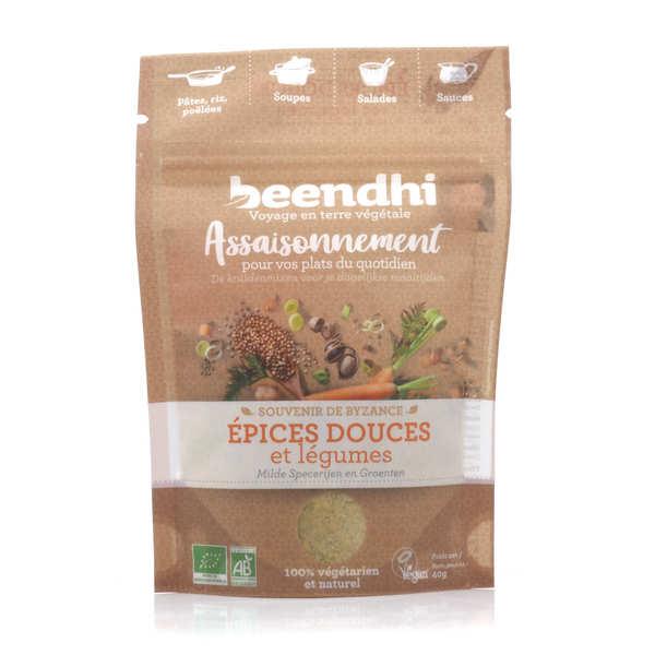 Bouillon bio doux, poireau, herbe et épices