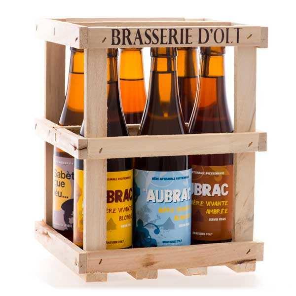 Coffret de 6 bouteilles de bière Brasserie d' Olt