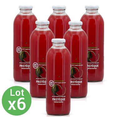 Pur jus de pastèque bio 6 bouteilles offre promo