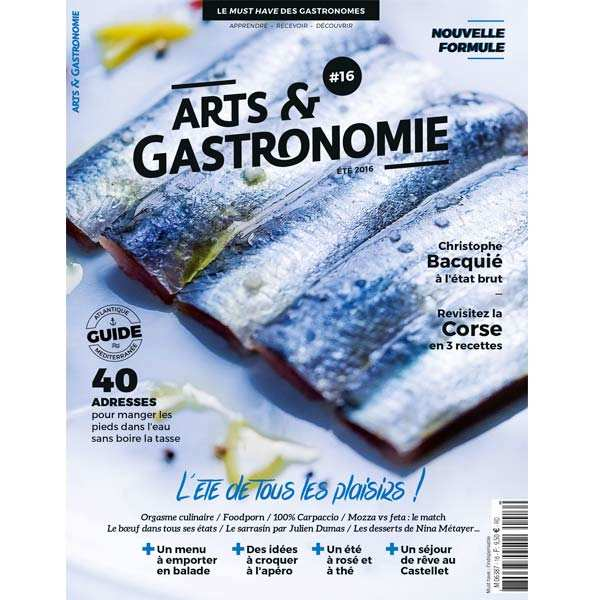 French magazine about cuisine - Art et gastronomie n°16