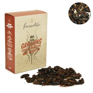Insecteo - Crickets Barbecue Flavor