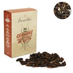 Insecteo - Crickets Barbecue Flavor