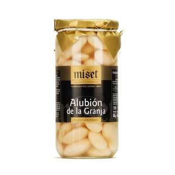 Miset - Judion de la Granja - Haricots blancs géants espagnols cuisinés