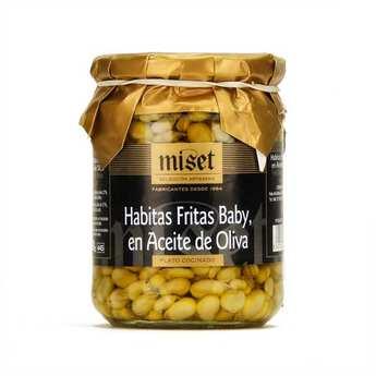 Miset - Petites fèves frites à l'huile d'olive