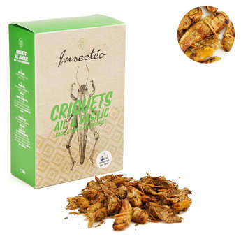 Insecteo - Thai Basil and Garlic Locusts Thai