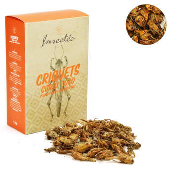 Insecteo - Criquets coco et curry