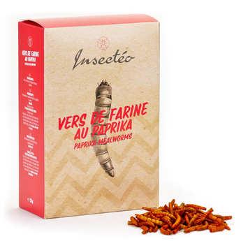 Insecteo - Vers de farine au paprika