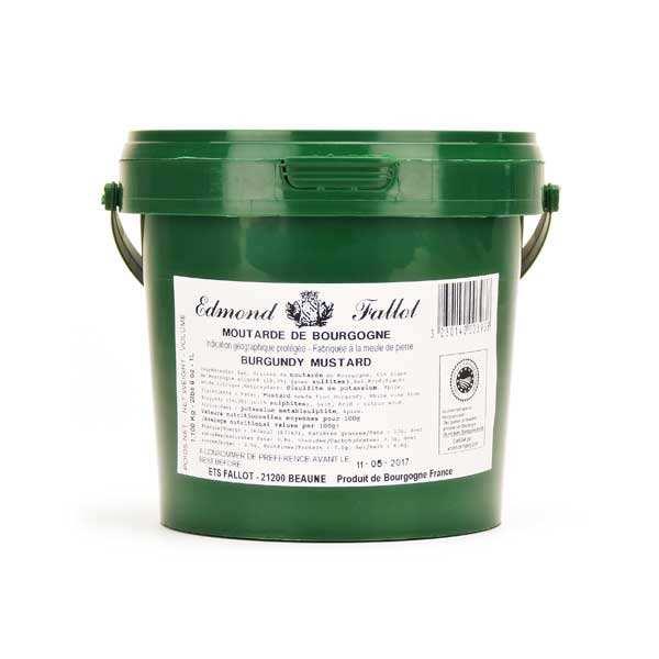 Moutarde de Bourgogne IGP - le seau de 1.1kg