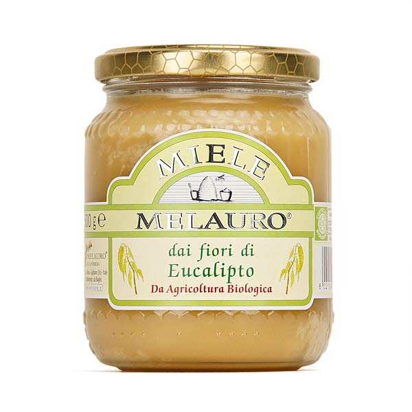 Miel bio d'eucalyptus de Sicile