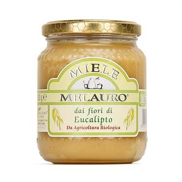 Organic Sicilian Eucalyptus Honey