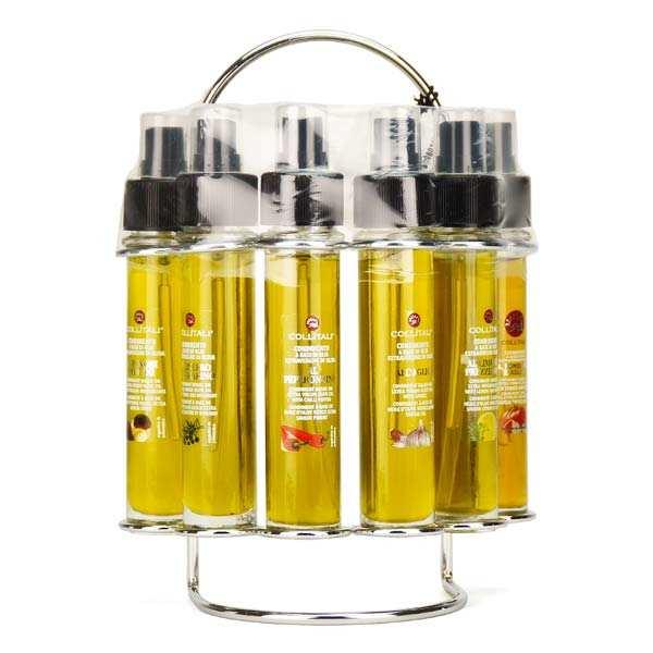 Farandole d'huiles d'olive italiennes aromatisées en spray