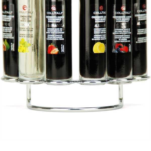 Farandole de vinaigres balsamiques italiens aux fruits en spray