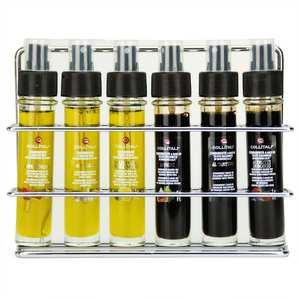 La Collina Toscana - Set of 3 Italian Olive Oils and 3 Balsamic Vinegar in Sprays